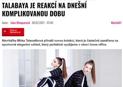 Kolekce NUMBER 5 české značky TALABAYA je reakcí na dnešní komplikovanou dobu