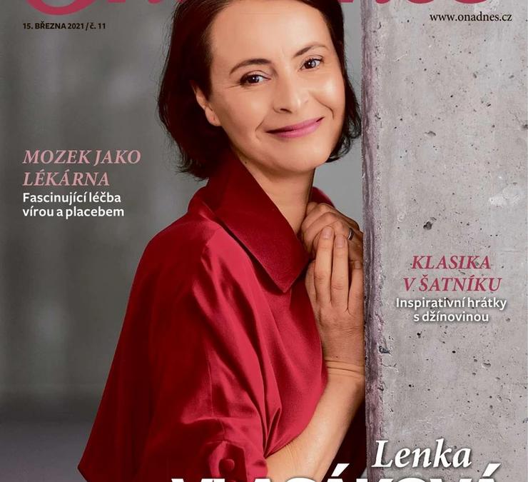 Lenka Vlasáková všatech Liana
