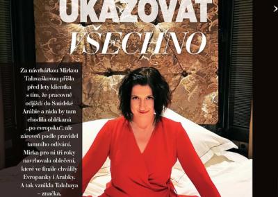 Velký rozhovor sMirkou Talavaškovou pro Glanc