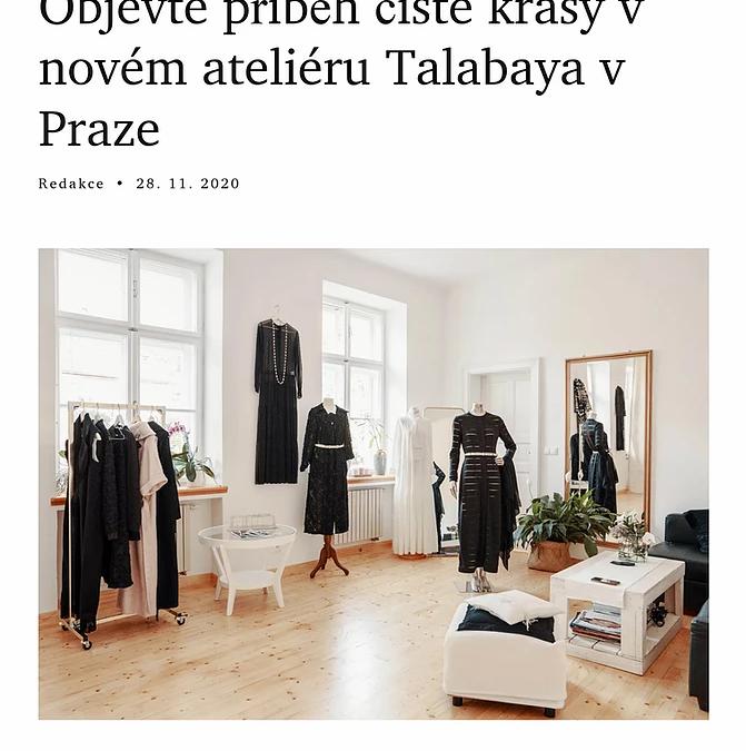 Nový ateliér TALABAYA vLuxuryGuide.cz