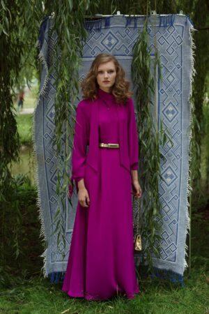 Šaty SOPHIA fialová