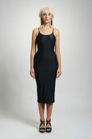 Šaty MEERA spodnička černá