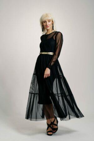 Tylové šaty MEERA