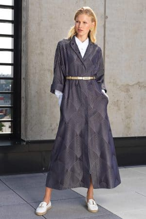 Brocade coat DAHLIA