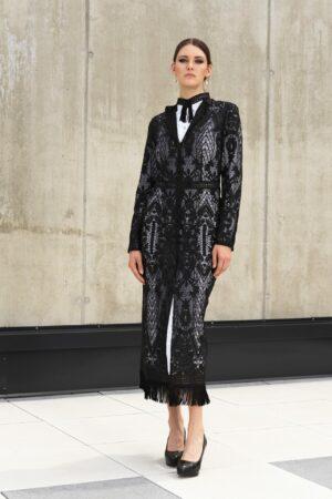 Luxury lace coat AVA