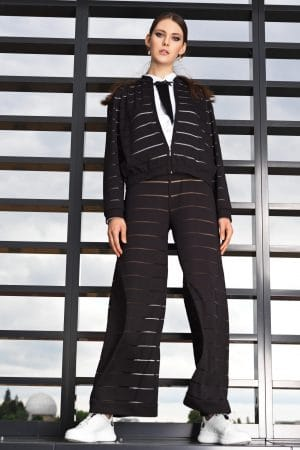 Striped wide pants MARLEN
