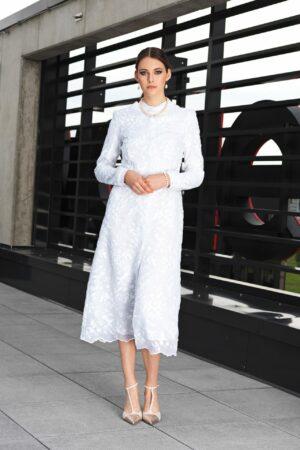 Embroidered coat AISHA - tailor made