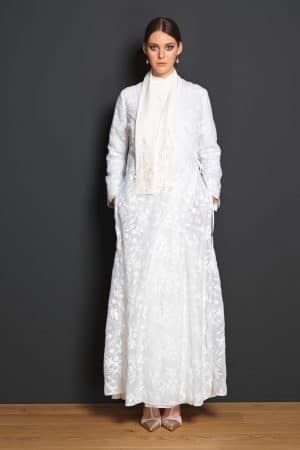 Embroidered coat LAYLA - tailor made