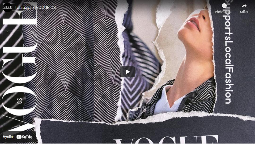 Vogue Supports Local Fashion: Talabaya podzim/zima 2020